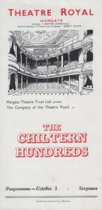 The Chiltern Hundreds William Douglas Home Theatre Royal Margate Kent Programme