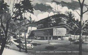 West Virginia Morgantown Mont Chateau Lodge Albertype