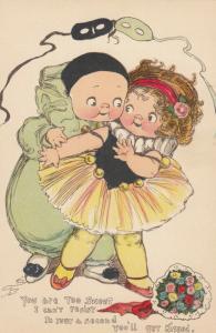 Grace DRAYTON-WIDERSEIM, 00-10s ; TUCK 243 Pierrot Clown & Girl