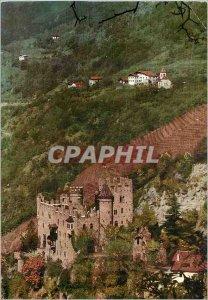 Modern Postcard Merano castle Fontana con Chesetta s pietro