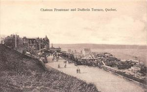 10172 Quebec   Chateau Frontenac and Dufferin Terrace