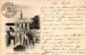 CPA Chateau d'Amboise - La Chapelle (611735)