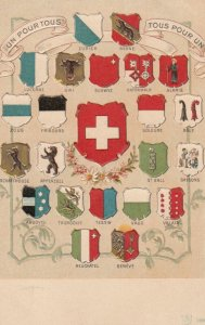 Coat of Arms, Switzerland, 1901-07