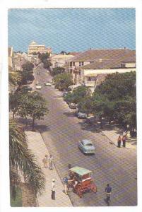 Bay Street, Nassau in the Bahamas, 40-60s