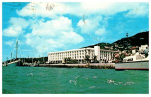The Windward Hotel St. Thomas  Virgin Islands Postmark 1973