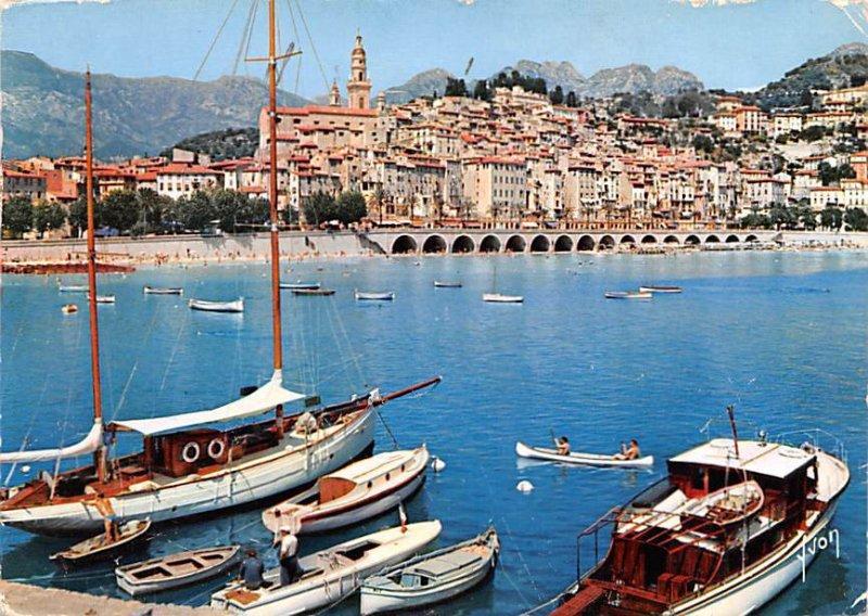 La Cote d'Azur, Menton France 1958