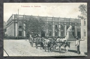 dc1623 - SANTIAGO Chile 1910s Tribunales de Justicia