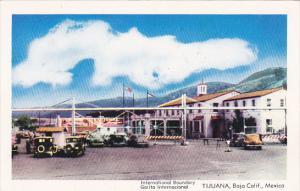 Mexico International Boundary Tijuana Baja California