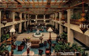 Washington Spokane Davenport Hotel Lobby