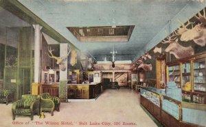 SALT LAKE CITY, Utah, 1915 ; Wilson Hotel , Office