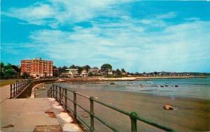 Lynn Massachusetts~Waterfront & Shore Drive~Big Hotel~Rock on Beach 1950s