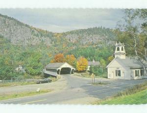 Unused Pre-1980 BRIDGE SCENE Stark - Near Northumberland New Hampshire NH HQ8933