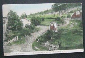 Residence Of G W Goodrich Nottingham NH 1916 Frank Swallow
