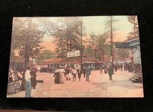 PARADISE ALLEY, PALISADES AMUSEMENT PARK NJ (C1910 postcard) Unposted