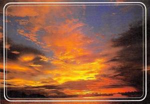 Belgium Oostende Sunset Landscape