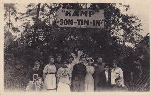 RP: PRELATE , Saskatchewan , Canada , 00-10s; Campers at Kamp SOM-TIM-IN