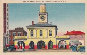 Old Market House Built In 1838 Fayetteville North Carolina