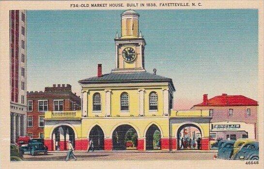 Old Market House Built In 1838 Fayetteville North Carolina
