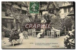 Old Postcard Dives A over the corner and Gardens of William the Conqueror Hos...