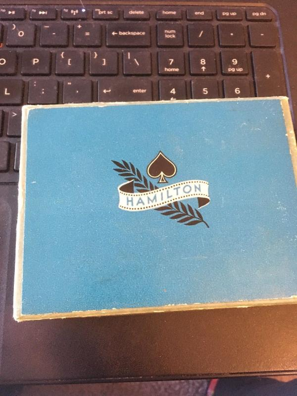 Vintage Double Deck Hamilton Playing Cards- Flowers in Vase