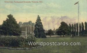 British Columbia, Canada Parliament Grounds Victoria  Parliament Grounds