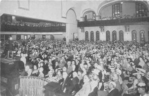 St Petersburg Florida~First Avenue Methodist Church Interior~Prayer Meeting~1945