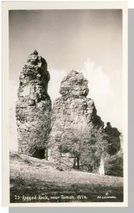 Tomah, Wisconsin/WI Postcard, Ragged Rock, A.E. Luckenbill