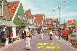 Many Small Shops, Groeten Uit Volendam (North Holland), Netherlands, 1950-1970s