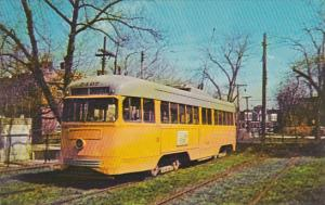 Trolley Baltimore Transit Car #7407