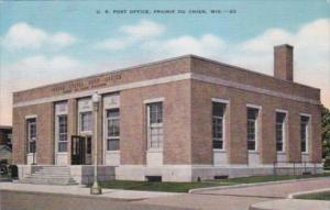 Wisconsin rairie Di Chien Post Office 1941