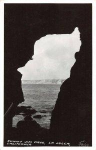 LPS32 La Jolla California Sunny Jim Cave Postcard Frashers RPPC