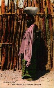 CPA AK Dakar Femme Bambara SENEGAL (821827)