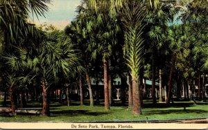 Florida Tampa De Soto Park Curteich