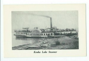 Postcard Keuka Lake Steamer Built in Brooklyn NY Finger Lakes Series VPC01.