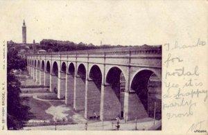 PRE-1907 HIGH BRIDGE NEW YORK CITY, NY publ. J Koehler 1906