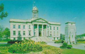 Exterior,  Kitchener City Hall,  Kitchener,  Ontario,  Canada,  PU_1963