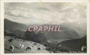Postcard Modern Col d'Aspin