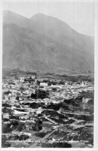 CARACAS VENEZUELA & THE MOUNTAIN EL AVILA-MAURY HERMANOS PHOTO POSTCARD