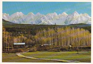 Canada Seven Sisters Range British Columbia