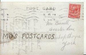 Genealogy Postcard - Burnell - Acaster Lane - Bishopthorpe - York - Ref 9096A