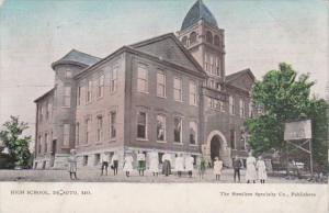 High School De Soto Missouri 1913