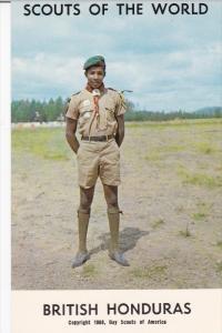 Boy Scouts of the World, BRITISH HONDURAS, 1960´s