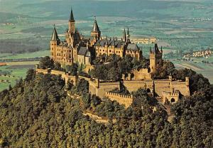 Burg Hohenzollern Castle General view Chateau