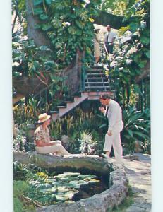 Pre-1980 GARDENS AT HOTEL Nassau Bahamas F6548