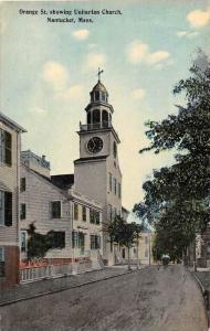 Massachusetts  Nantucket Unitarian Church, Orange Street