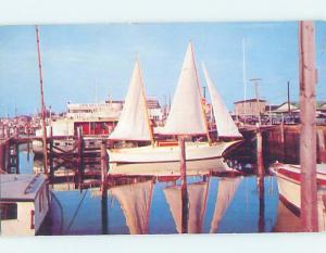 Pre-1980 HARBOR SCENE Cape May New Jersey NJ hp7516