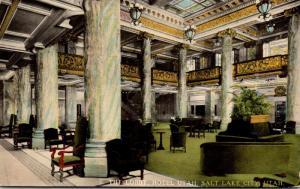 Utah Salt Lake City Hotel Utah Lobby