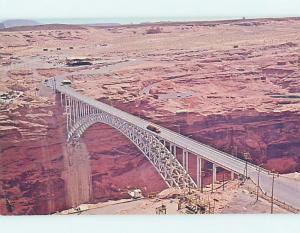 Unused Pre-1980 BRIDGE SCENE Page Arizona AZ H7764
