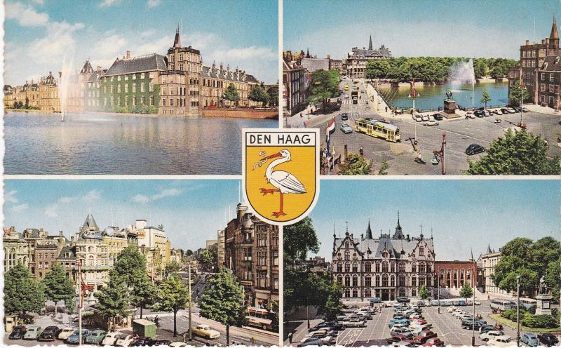 Post Card Netherlands Den Haag