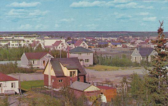 Canada Yellowknife From Matonabbee Avenue Northwest Territories